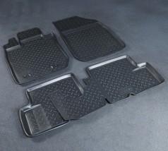 Коврики в салон Renault Duster 4WD (11-) полиуритановые