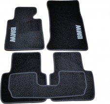 AVTM Коврики в салон текстильные BMW 3 (Е46) (1998-2006) Черные, комплект 5шт