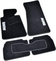 AVTM Коврики в салон текстильные BMW 5 (E34) (1987-1995) Черные, комплект 5шт
