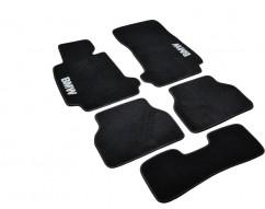 AVTM Коврики в салон текстильные BMW 5 (E39) (1995-2003) Черные,  комплект 5шт