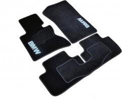 AVTM Коврики в салон текстильные BMW X3 (Е83) (2003-2010) АКПП /Чёрн,комплект 5шт