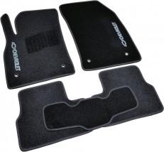 AVTM Коврики в салон текстильные Chevrolet Cruze (2008-) Черные,  комплект 5шт