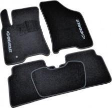 AVTM Коврики в салон текстильные Chevrolet Lacetti (2002-) Черные, комплект 5шт