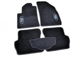 AVTM Коврики в салон текстильные Ford Fiesta (2002-2008) Черные,  комплект 5шт