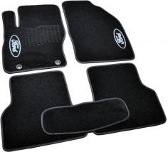 AVTM Коврики в салон текстильные Ford Focus II (2004-2011) Черные,  комплект 5шт