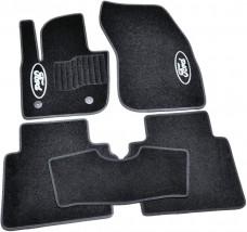 AVTM Коврики в салон текстильные Ford Mondeo (2014-) Черные, комплект 5шт