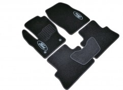 AVTM Коврики в салон текстильные Ford Kuga (2013-) Черные,  комплект 5шт