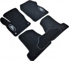AVTM Коврики в салон текстильные Ford Focus III (2011-) Черные,  комплект 5шт