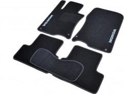 AVTM Коврики в салон текстильные Honda Accord (2008-2012) Черные,  комплект 5шт