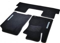 AVTM Коврики в салон текстильные Honda CR-V (2012-2016) Черные,  комплект 3шт