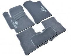 AVTM Коврики в салон текстильные Hyundai Accent (2006-2010) (Verna) Серые комплект 5шт