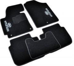 AVTM Коврики в салон текстильные Hyundai Elantra (2011-2015) Черные,  комплект 5шт