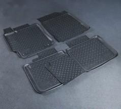 NorPlast Коврики в салон Toyota Camry (V50) (11-) полиуритановые