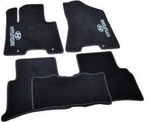 AVTM Коврики в салон текстильные Hyundai Tucson (2015-) Черные,  комплект 5шт