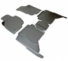 NorPlast Коврики в салон Toyota Hilux (N2) (11-) полиуритановые