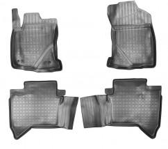 NorPlast Коврики в салон Toyota Hilux VIII (15-)  полиуритановые