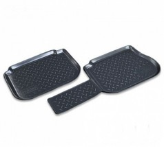 NorPlast Коврики в салон Volkswagen Caddy задние (04-) полиуритановые