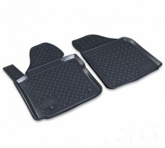 NorPlast Коврики в салон Volkswagen Caddy передние (04-) полиуритановые