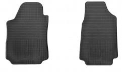 Коврики в салон резиновые Audi 100/A6 (C4) 90- (2 шт)