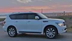Ветровики Nissan Patrol (Y62) 2010/Infiniti QX56 (Z62) 2010