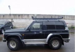 Ветровики Nissan Patrol 3d (Y60) 1988-1997/Ford Maverick 3d 1988-1996