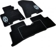 AVTM Коврики в салон текстильные Kia Sportage (2015-) Черные,  комплект 5шт