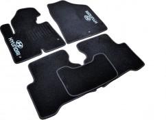 AVTM Коврики в салон текстильные Hyundai Santa Fe (2012-) Черные,  комплект 5шт