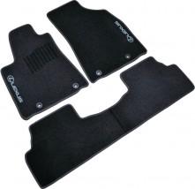 AVTM Коврики в салон текстильные Lexus RX (2009-2015) Черные, комплект 3шт