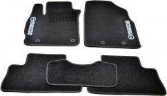 AVTM Коврики в салон текстильные Mazda CX-7 (2006-2012) Черные, комплект 5шт