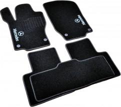 AVTM Коврики в салон текстильные Mercedes GL/ML164 (2006-2012) 5 мест Черные,  комплект 5шт