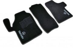 AVTM Коврики в салон текстильные Mercedes Vito 639 (2003-2014) Черные, комплект 3шт