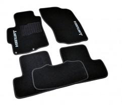 AVTM Коврики в салон текстильные Mitsubishi Lancer (2007-) Черные,  комплект 5шт