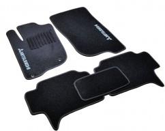 AVTM Коврики в салон текстильные Mitsubishi Pajero Sport (2008-2015) Черные,  комплект 5шт