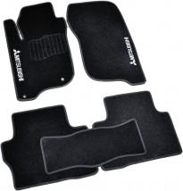 AVTM Коврики в салон текстильные Mitsubishi Pajero Sport (2015-) Черные,  комплект 5шт