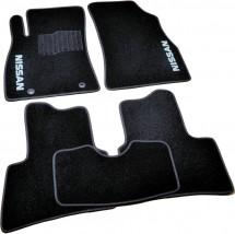 AVTM Коврики в салон текстильные Nissan Juke (2010-) Черные,  комплект 5шт, KE7451K021