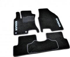 AVTM Коврики в салон текстильные Nissan Qashqai (2007-2013) Черные,  комплект 5шт, KE745JD031CS