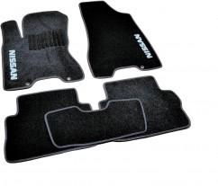 AVTM Коврики в салон текстильные Nissan X-Trail T31 (2007-2014) Черные,  комплект 5шт, KE745JG021