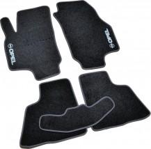 AVTM Коврики в салон текстильные Opel Astra G (1998-2009) /Чёрн, комплект 5шт