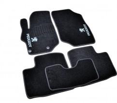 AVTM Коврики в салон текстильные Peugeot 301 (2012-) Черные,  комплект 5шт