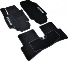 AVTM Коврики в салон текстильные Renault Captur (2013-) Черные, комплект 5шт,