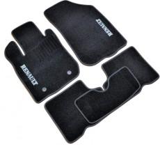 Коврики в салон текстильные Renault Duster (2010-) Черные, комплект 5шт