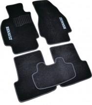 AVTM Коврики в салон текстильные Renault Megane II (2002-2008) Черные, комплект 5шт