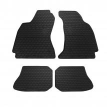 Коврики в салон резиновые Audi A4 (B5) 95-00 (design 2016) (4 шт)