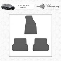 Коврики в салон резиновые Audi A4 (B6) 00-/AUDI A4 (B7) 04- (2 шт)