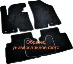 AVTM Коврики в салон текстильные Skoda Super B (2001-2008) Черные,комплект 5шт