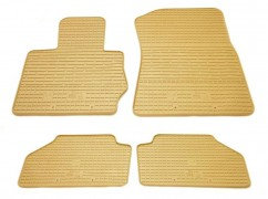 Stingray Коврики в салон резиновые BMW X3 (F25) 10-/BMW X4 (F26) 14- (4шт - бежевые)