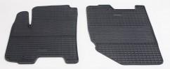 Stingray Коврики в салон резиновые Chevrolet Aveo 04-//Zaz Vida 12- (design 2016) (2 шт)