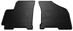Коврики в салон резиновые Chevrolet Lacetti 04-/ Daewoo Gentra 13- (design 2016) (2 шт)