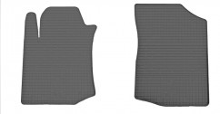 Коврики в салон резиновые Citroen C1 05-/Toyota Aygo 05-/Peugeot 107 05- (design 2016) (2 шт)