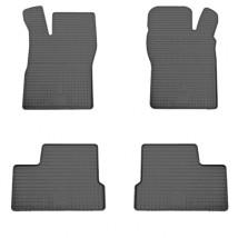 Stingray Коврики в салон резиновые Daewoo Nexia 95-08-/Opel Vectra A 88-/Kadett E 84-/Astra F 91- (design 2016) (4шт)